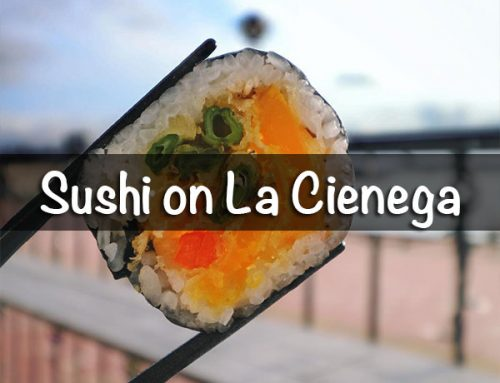 Sushi on La Cienega